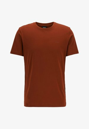 LECCO  - Basic T-shirt - brown
