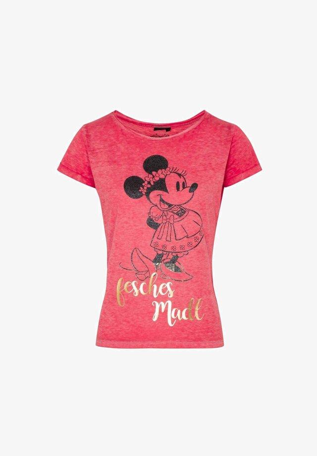 Print T-shirt - rot