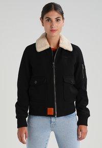 Bombers - AVIATOR - Light jacket - black - 0