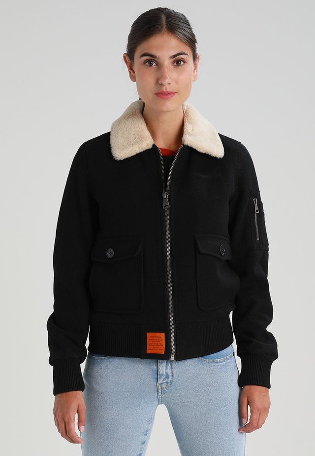 AVIATOR - Light jacket - black