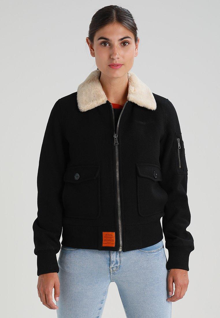 Bombers - AVIATOR - Light jacket - black