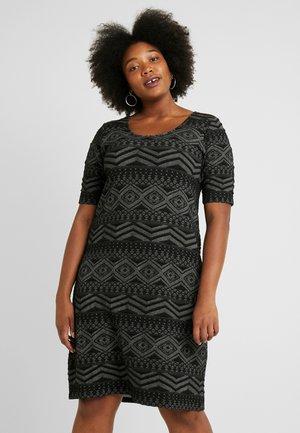 CARMITSA KNEE DRESS - Jerseykjoler - black