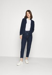 Marks & Spencer London - Fleece jacket - dark blue - 1