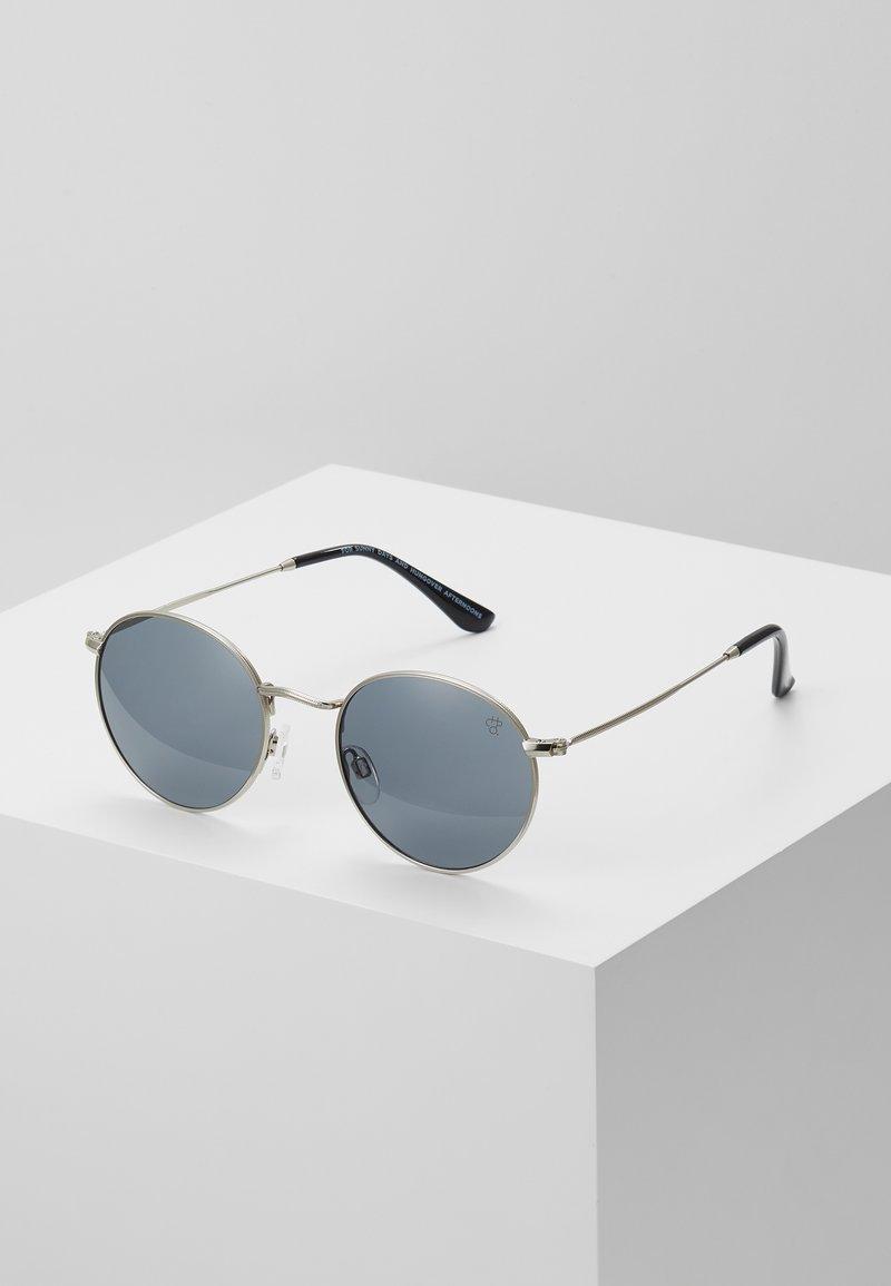 CHPO - LIAM - Lunettes de soleil - silver-coloured/black