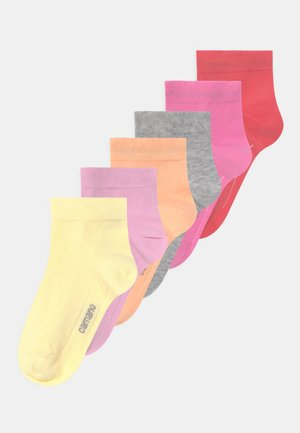 ONLINE CHILDREN 6 PACK - Socks - peach echo