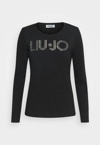Liu Jo Jeans - LONGSLEEVE - Topper langermet - nero - 4