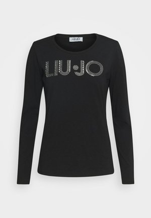LONGSLEEVE - Long sleeved top - nero