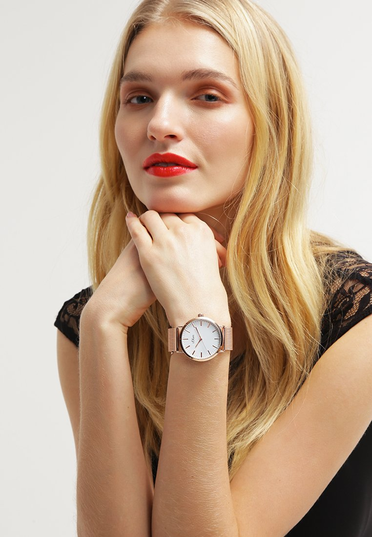 s.Oliver - Watch - roségold-farbig