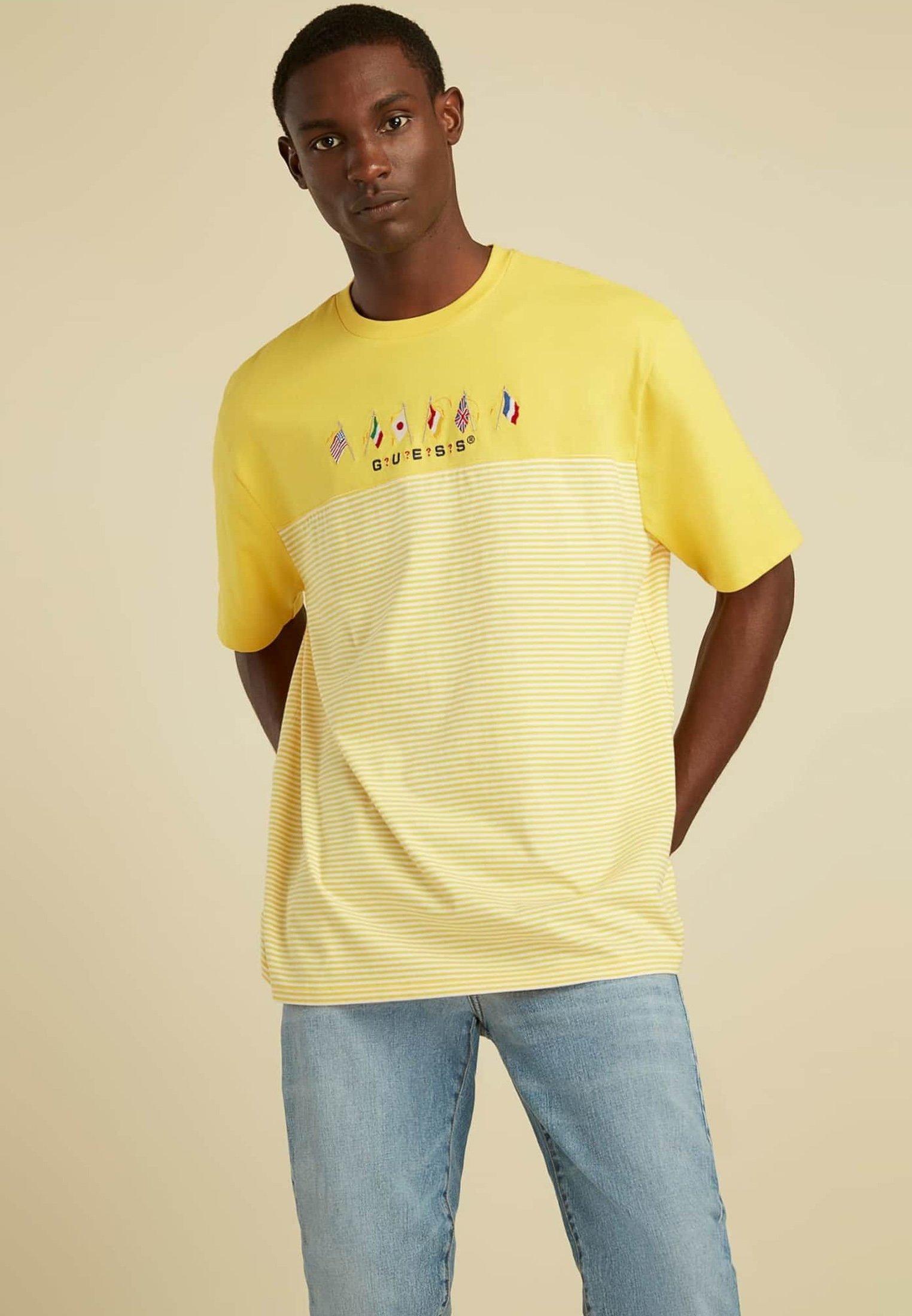 Uomo FLAGGENLOGO - T-shirt con stampa