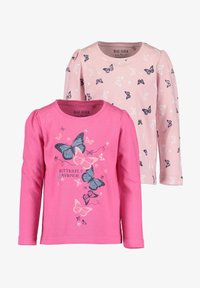 Blue Seven - COLOR YOUR LIFE - Long sleeved top - m02 - rosa aop + pink - 0