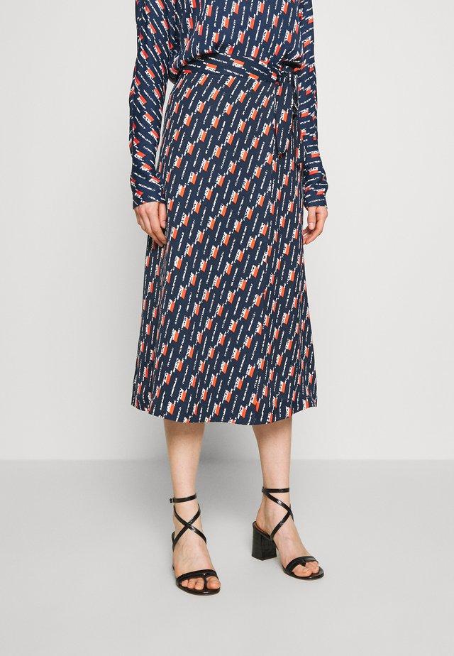 CHIKA - Áčková sukně - multi-coloured