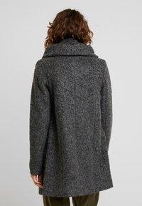 TOM TAILOR DENIM - COAT - Kort kåpe / frakk - light tarmac grey melange - 2