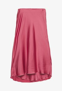 Abercrombie & Fitch - HIGH WAIST MIDI SKIRT - A-line skirt - coral - 0