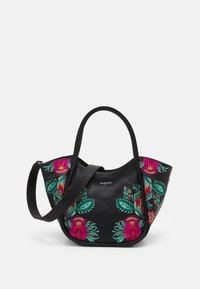 Desigual - BOLS LOUVRE ROTTUM - Handbag - black - 0