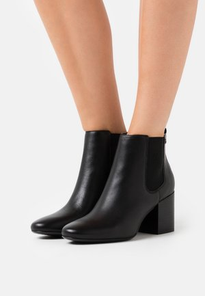 ESSENTIAL MID HEEL - Ankle boots - black
