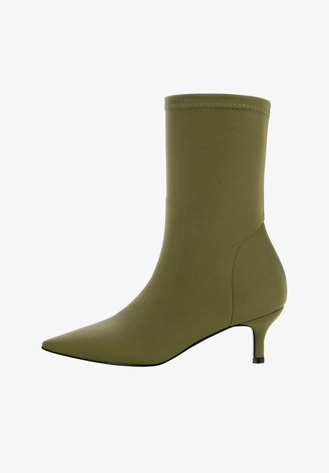 FIANO - Classic ankle boots - green