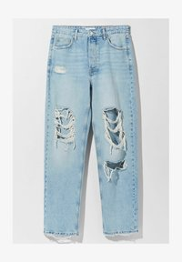 Bershka - Jeansy Straight Leg - light blue - 6