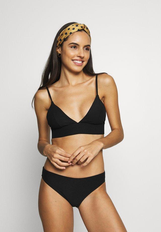 BURGSVIK BOTTOM HEMSE SET - Bikini - black