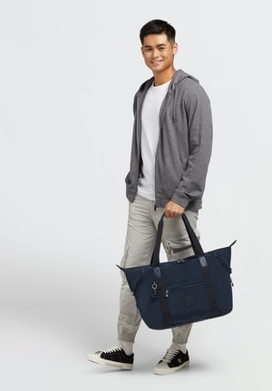Tote bag - blue bleu 2