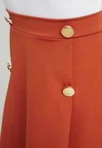Even&Odd Petite - A-line skirt - brown - 4