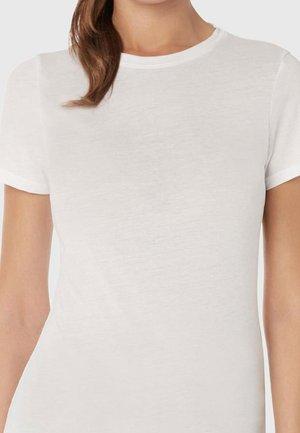 KURZARM-T-SHIRT AUS EXTRAFINE SUPIMA® BAUMWOLLE - Undershirt - white