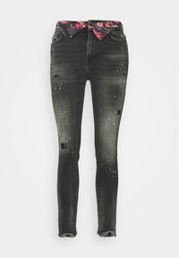 Desigual - BOW - Jeans Slim Fit - denim black - 3