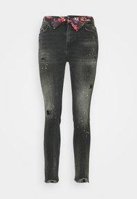 BOW - Vaqueros slim fit - denim black
