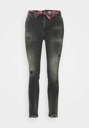 BOW - Jeansy Slim Fit - denim black