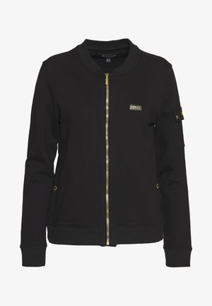 MAGNA OVERLAYER - Zip-up hoodie - black