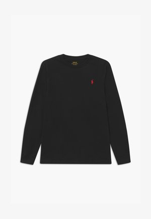 Long sleeved top - polo black