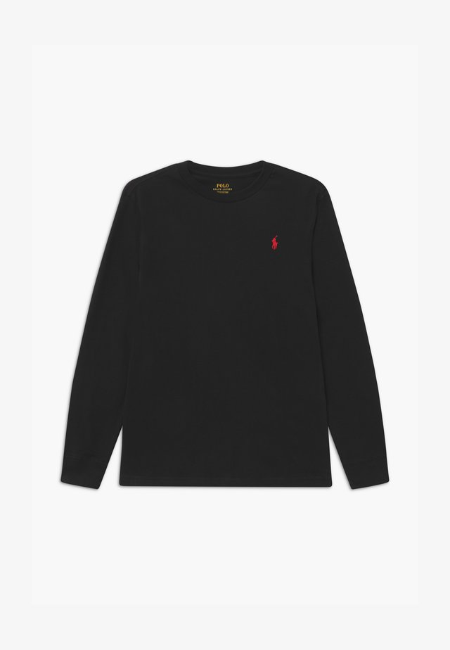 Longsleeve - polo black