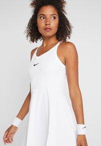 Nike Performance - DRY DRESS - Sportovní šaty - white/black - 4