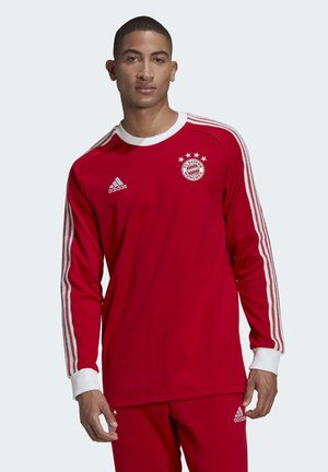 FC BAYERN LICENSED ICON LONG-SLEEVE TOP - Club wear - red