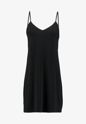 KRISTA SLIP DRESS - Jersey dress - black
