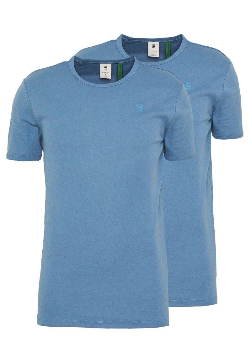 G-Star - BASE 2 PACK  - Basic T-shirt - delft