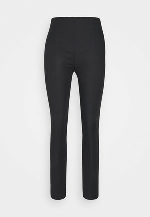KURA CROPPED - Trousers - black