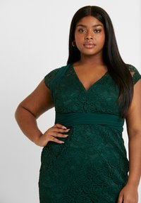 TFNC Curve - VERYAN DRESS - Cocktail dress / Party dress - jade green - 5