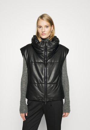 PADDED VEST - Waistcoat - zoom/black