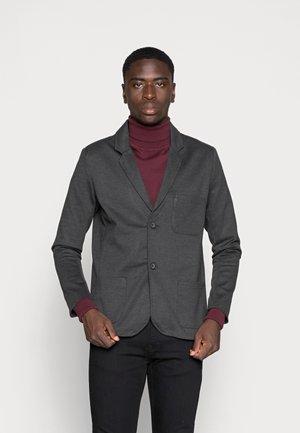PONTE BLAZER - Blazer jacket - dark grey melange