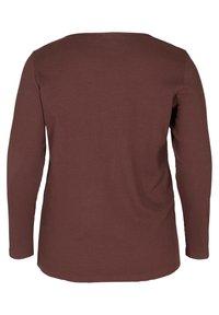 Zizzi - Long sleeved top - brown - 2