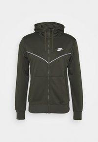 Nike Sportswear - REPEAT HOODIE - Sudadera con cremallera - cargo khaki - 0