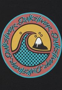 Quiksilver - ELECTRIC ROOTS  - Print T-shirt - black - 2