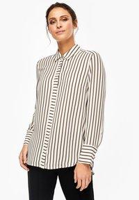 s.Oliver BLACK LABEL - Button-down blouse - cream - 0