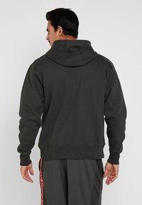 Under Armour - PERFORMANCE ORIGINATORS - Zip-up hoodie - baroque green - 2