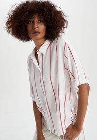 DeFacto - Button-down blouse - white - 0