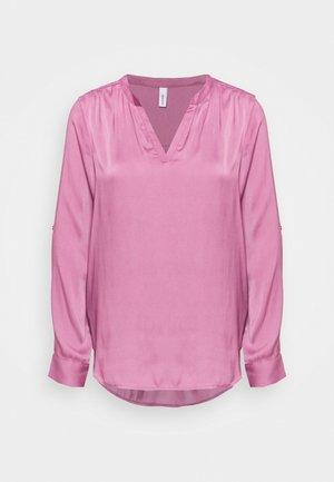 PAMELA - Blouse - dark pink rose