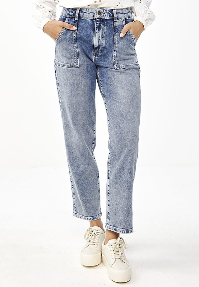 Relaxed fit jeans - denim