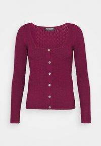 Fashion Union - ELISHA - Cardigan - burgundy - 4