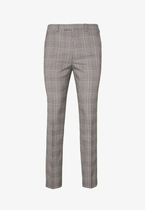 HIGHLIGHT CHECK - Oblekové kalhoty - grey