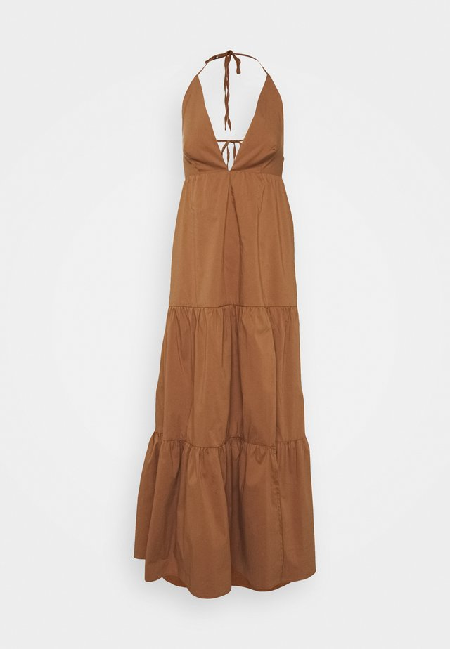 CROIX DRESS - Maxi-jurk - tan